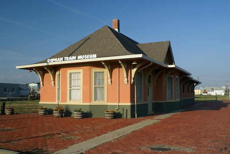 Union Pacific depot in Concordia, KS.