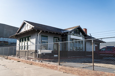 AT&SF depot in Spearville, KS.