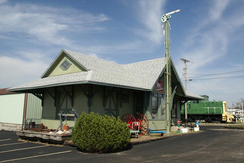 Missouri-Kansas-Texas depot in Galena, KS.