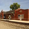 Santa Fe depot<br /> Strong City, KS