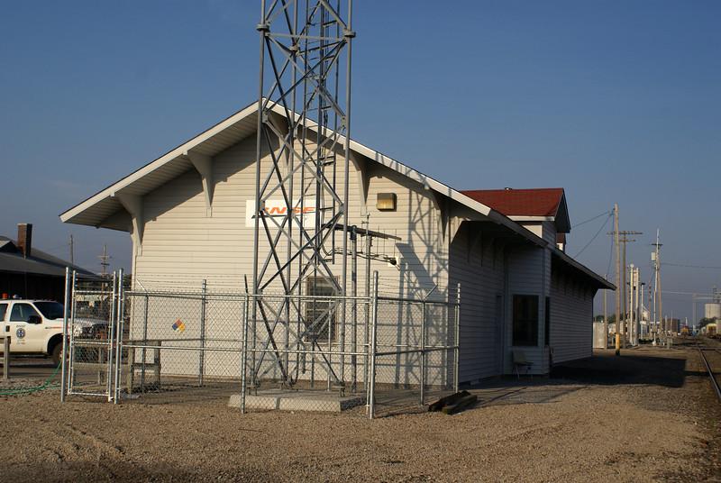 Santa Fe depot in Concordia, KS.  It is still in railroad use under BNSF.