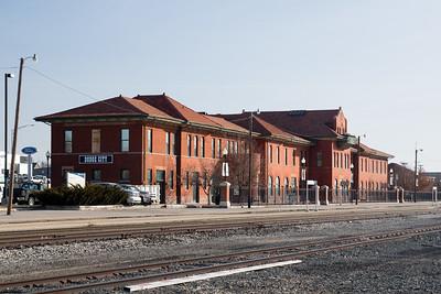 Santa Fe station in Dodge City, KS.