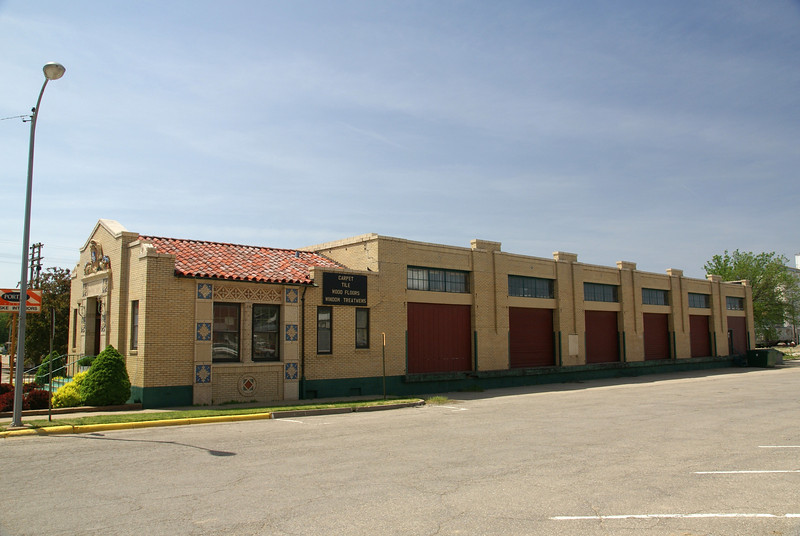 Union Pacific freight depot in Abilene, KS.