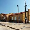 Abandoned Union Pacific depot in Marysville, KS.