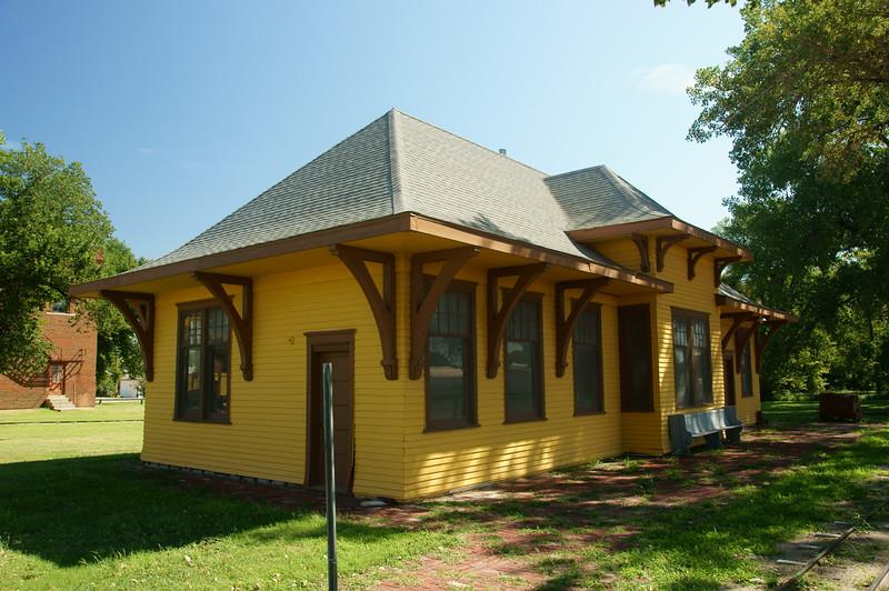 Penokee, KS Union Pacific depot relocated to Ellis, KS.
