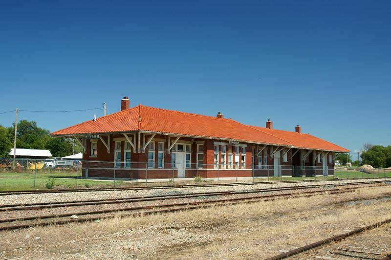 Missouri Pacific depot in Beloit, KS