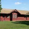 Morrill, KS Union Pacific depot relocated outside of Sabetha, KS.