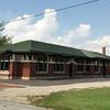 Restored Santa Fe depot in Eureka, KS
