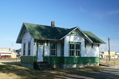 Union Pacific depot ftom Terra Cotta, KS now resides in Ellsworth, KS.