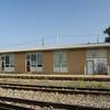Modern era Missouri Pacific depot in Hoisington, KS.