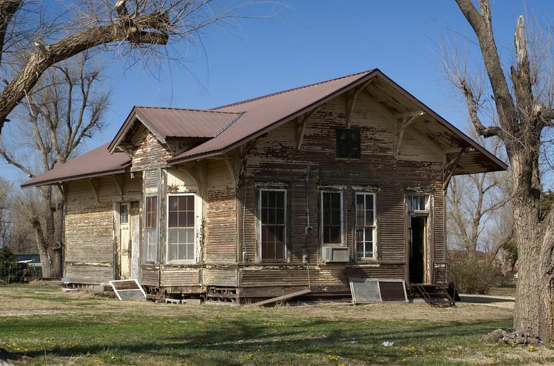 Sawyer, KS ATSF depot.