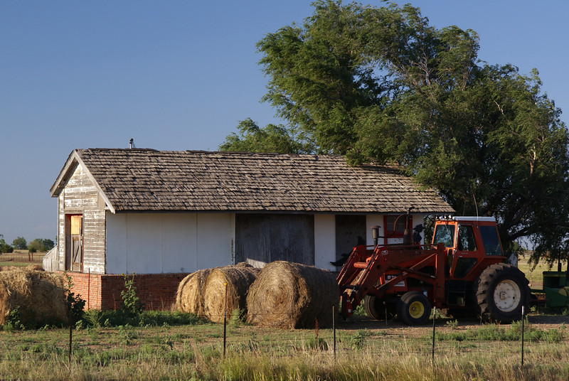 Beaver, KS depot moved to Chase, KS.  This Santa Fe depot onc served as a gas station before becoming a storage shed.