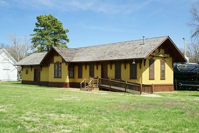 Lindsborg, KS Missouri Pacific depot.