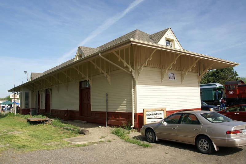 Abilene, KS Rock Island Depot