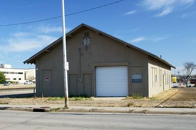 Santa Fe freight depot in Hutchinson, KS.
