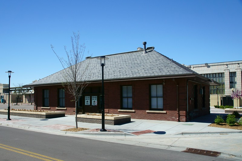 CRI&P baggage building in Wichita, KS.