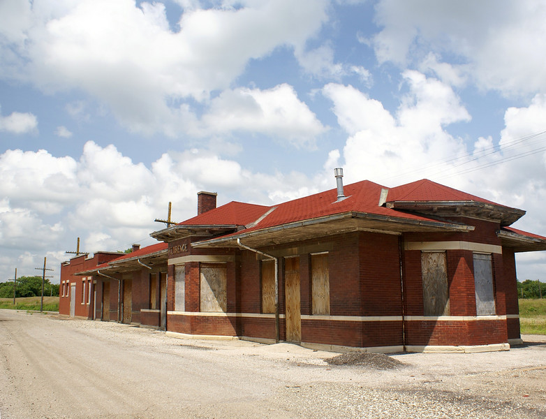 Florence, KS ATSF Depot