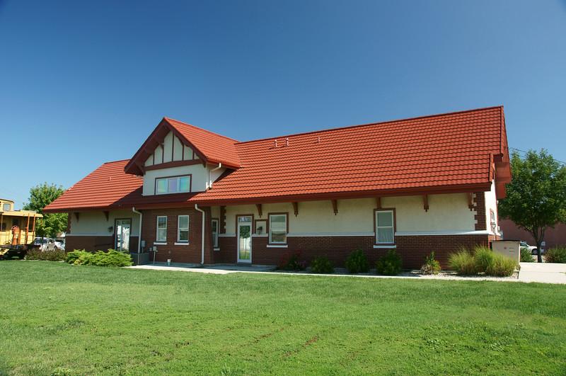 Rock Island depot in Clay Center, KS.