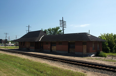 Northfield, MN CMStP&P depot.  Plans are in the works to relocate and restore the depot