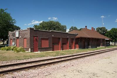 Albert Lea, MN CMStP&P depot