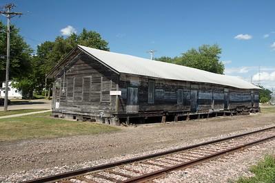 Albert Lea, MN CMStP&P freight depot