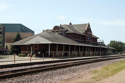 Mankato, MN Chicago & Northwestern depot