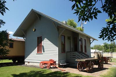 Bixby, MN CMStP&P depot relocated to Owatonna, MN