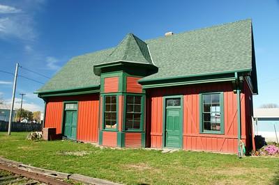 Green City, MO CB&Q depot