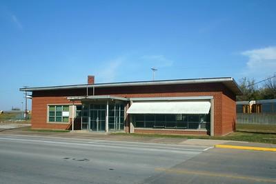 CB&Q depot in Hannibal, MO.