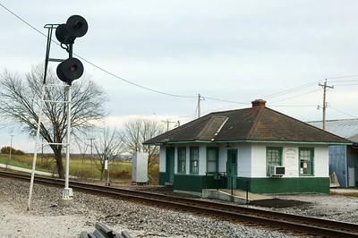 Clifton Hill, MO Wabash depot