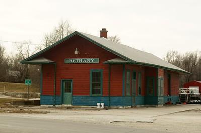 Bethany, MO CB&Q depot