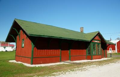 Linneus, MO CB&Q depot
