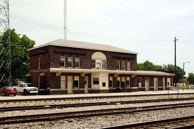 Chicago & Alton depot in Mexico, MO.