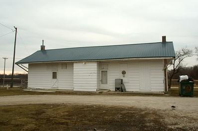 Cainsville, MO CB&Q depot