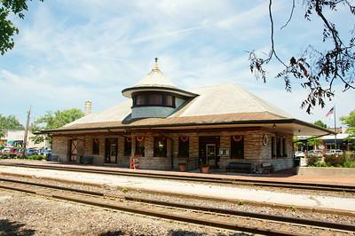 Missouri Pacific depot in Kirkwood, MO.