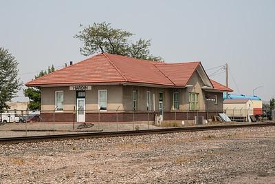 Hardin, MT CB&Q depot.