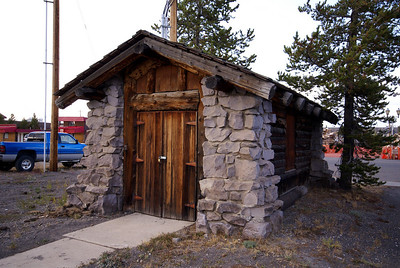 Oil house in West Yellowstone, MT.