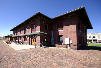 Butte, MT Northern Pacific Depot.