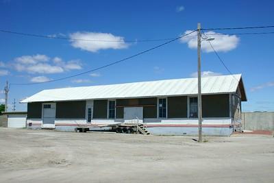 CMStP&O depot in Pender, NE.