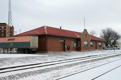Scottsbluff, NE CB&Q depot now used by BNSF.