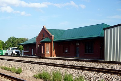 York, NE CB&Q depot