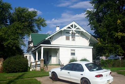 Relocated CB&Q depot in Seward, NE now used as a residence.