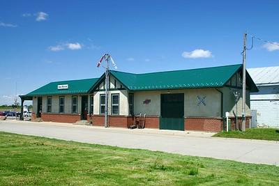 Wakefield, NE CMStP&O depot.