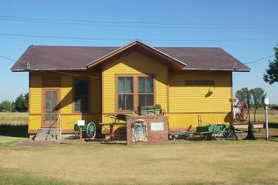Brady Island, NE UP depot now located in North Platte, NE.