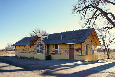 Union Pacific depot in Gothenburg, NE.