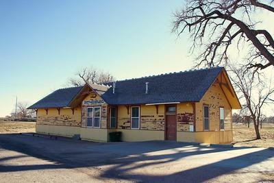 Union Pacific depot in Gothenburg, NE.