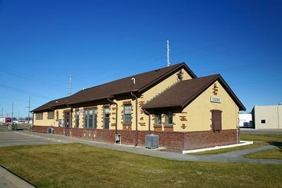 Cozad, NE Union Pacific depot.