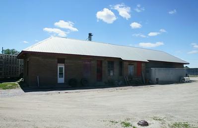 Bancroft, NE CMStP&O depot.