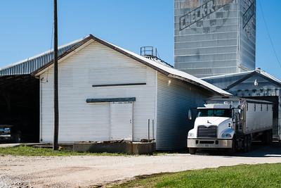 Auburn, NE CB&Q depot.