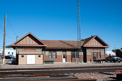 Tecumseh, NE CB&Q depot in use by BNSF.